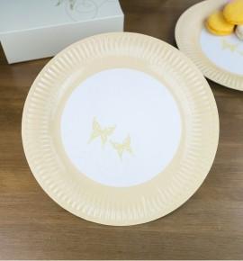 Svatební papírový talíř (8 Ks) - TL01-0203