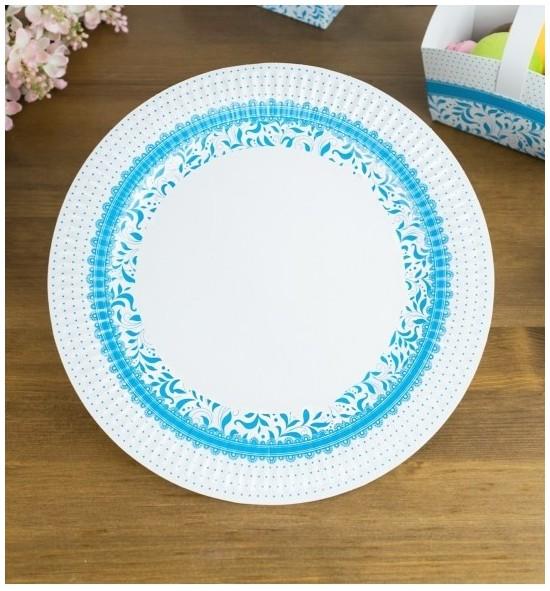 Svatební papírový talíř (8 Ks) - TL01-1001