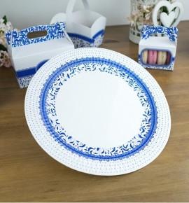 Svatební papírový talíř (8 Ks) - TL01-1002