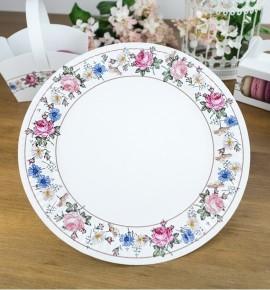 Svatební papírový talíř (8 Ks) - TL01-2091