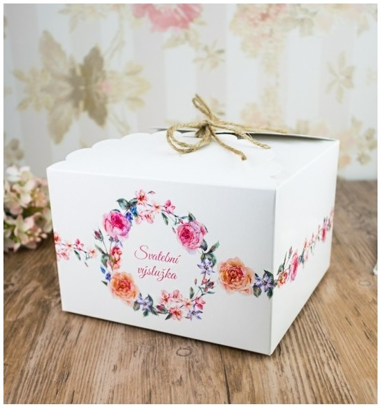 Svatební krabička - K66-2089