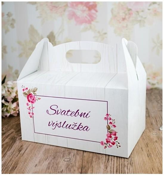 Svatební krabička na výslužku - K63-2090