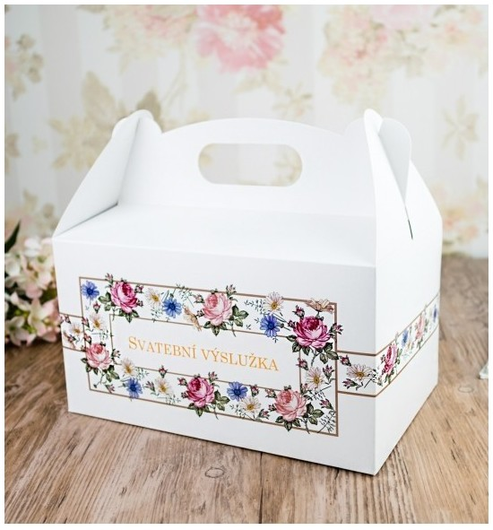 Svatební krabička na výslužku - K63-2091