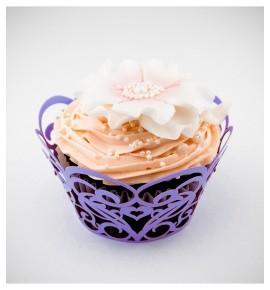 Svatební košíčky na cupcakes - CC1507