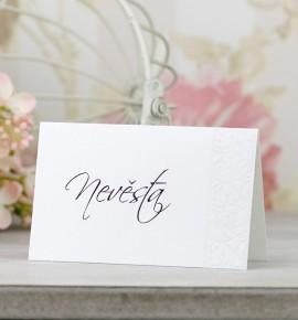 Svatební jmenovka J2095