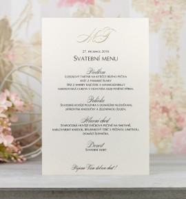 Svatební menu M2078