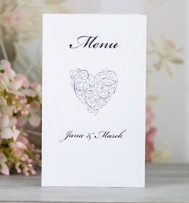 Svatební menu M2094