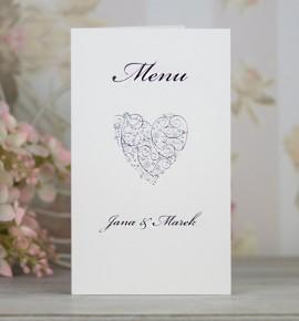 Svatební menu M2094B