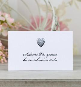 Pozvánka ke svatebnímu stolu P2097B