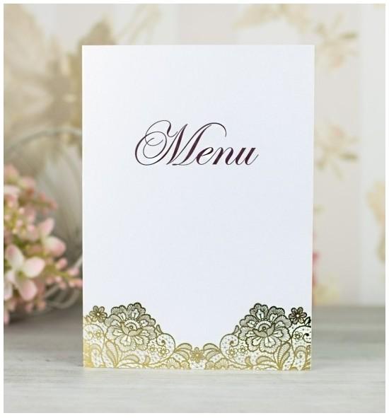 Svatební menu M2103