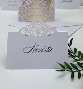 Svatební jmenovka J2117