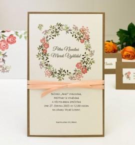 Svatební oznámení G2130