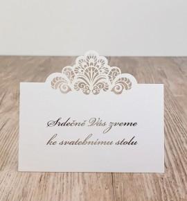 Pozvánka ke svatebnímu stolu P2144