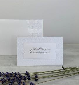 Pozvánka ke svatebnímu stolu P2026A
