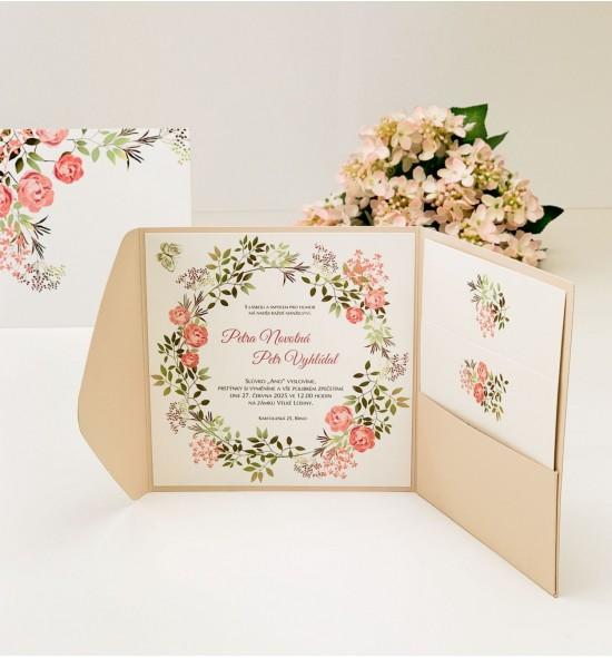Svatební oznámení G2133