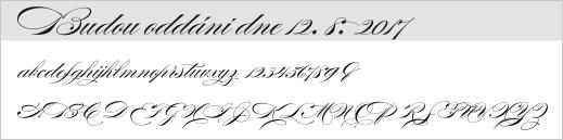 vzor písma - 29