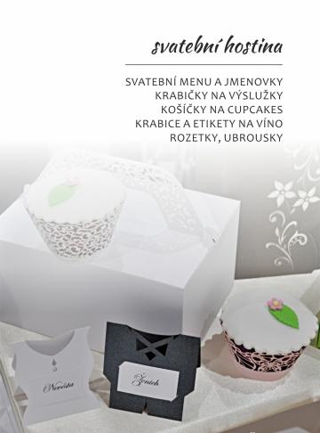 Svatebníá tiskoviny Epsilon - hostina