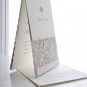 Svatební oznámení ze setu 2045  #svatebni #tiskoviny #svatba  #svatebnioznameni #oznamenibezsrdicek #krajka #vintage #svatebnihostina #svatebnikniha #epsilonpraha