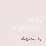 Občas se mě ptáte, zda lze objednat. Ano☺️ Neváhejte napsat nebo zavolat. Ráda poradím nebo se domluvíme na schůzce. Martina🙋🏻♀️ #svatbabude #svadba #svatebnioznameni #svatebni #tiskoviny #snoubenci #nevesta #zenich #svatebnípřípravy #epsilonpraha